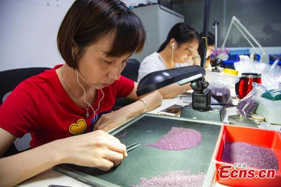Wuzhou - world capital for artificial gems
